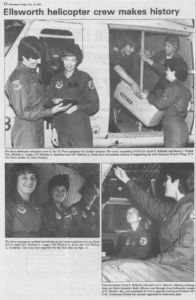 First USAF Female Aircrew