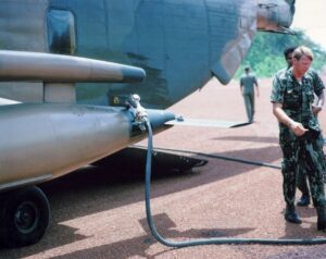 1972_73_Ground_Refueling_at_a_Lima_Site_Our_H_53s_were_REALLY_FAST_we_kept_them_oiled_down_REGULARLY_1