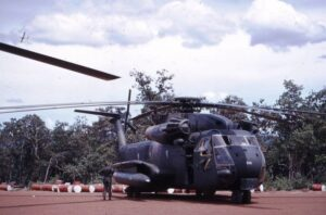 CH-53C 930 Blade Contact