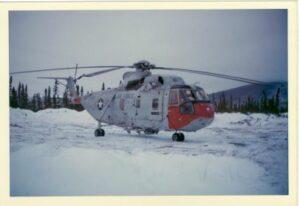 CH-3E 69-05811 AT BLAIR LAKES, ALASKA 1974