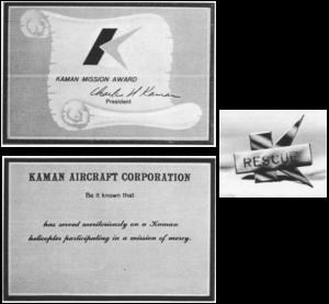 Kaman Mission Award