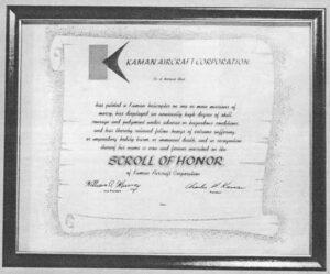 Kaman Scroll of Honor